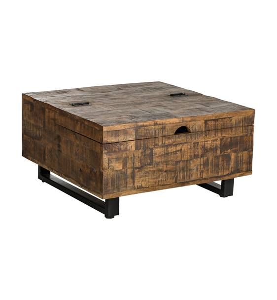 Woosh Naturel salontafel € 439,= 90x90x37 en € 319,= 70x70x37