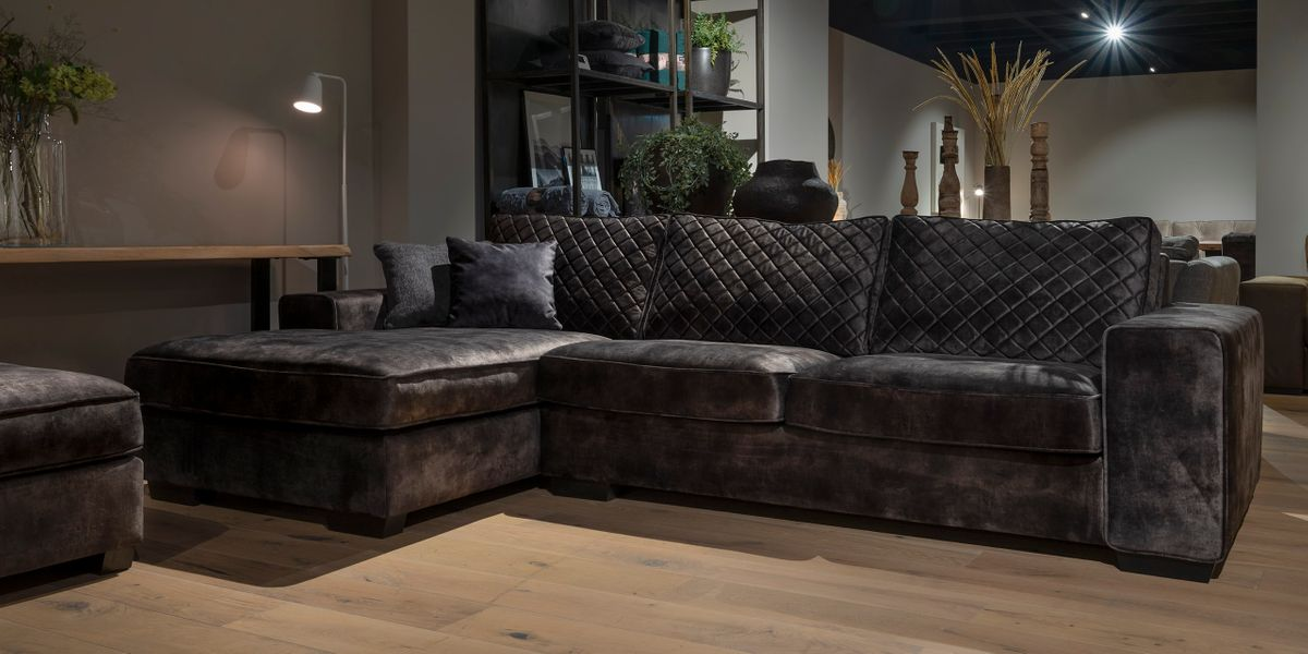 UrbanSofa Firenca Brooklyn Loungebank Sevilla Dark Brown