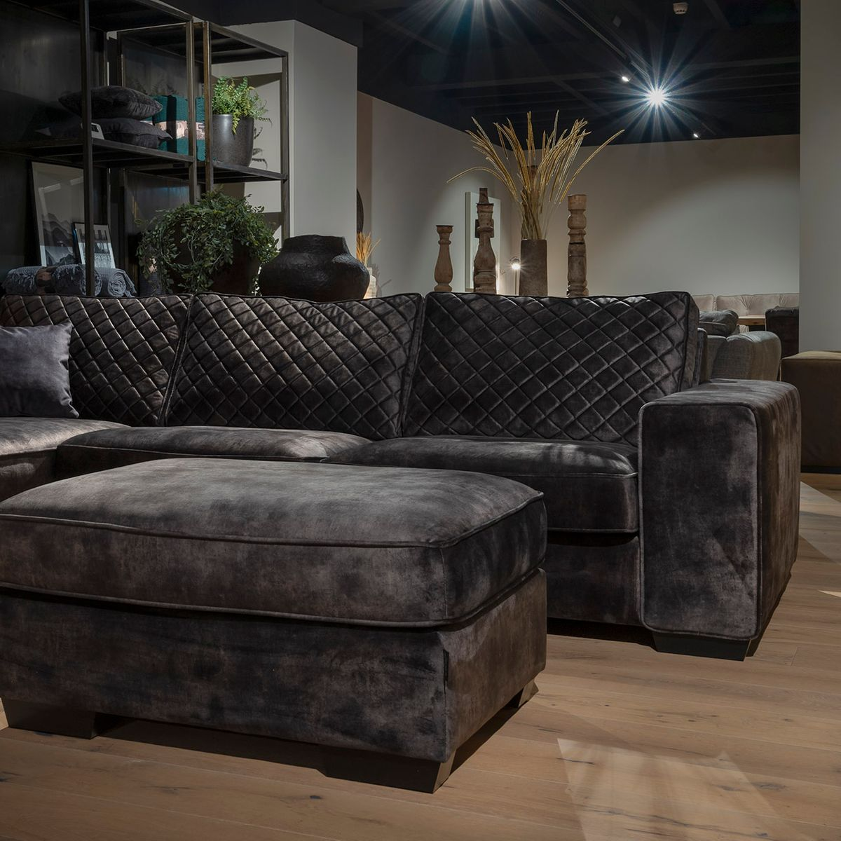 UrbanSofa Firenca Brooklyn Sevilla Dark Brown